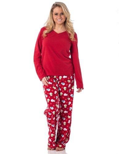 Shop for and buy womens fleece pajamas online at Macy's. Find womens fleece pajamas at Macy's. Macy's Presents: The Edit- A curated mix of fashion and inspiration Check It Out. Matching Family Pajamas Women's Fleece Navidad Pajama Set, Created For Macy's.